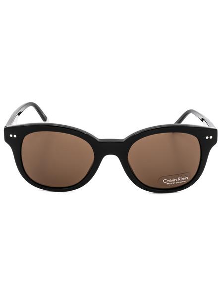 Солнцезащитные очки CK4354S 001 с коричневыми линзами Calvin Klein, фото
