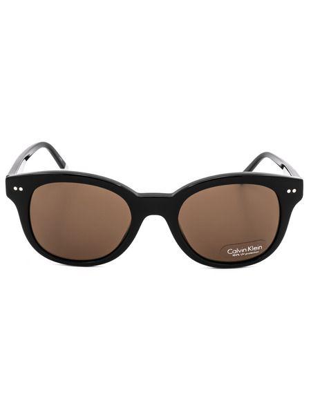Солнцезащитные очки CK4354S 001 с коричневыми линзами Calvin Klein фото