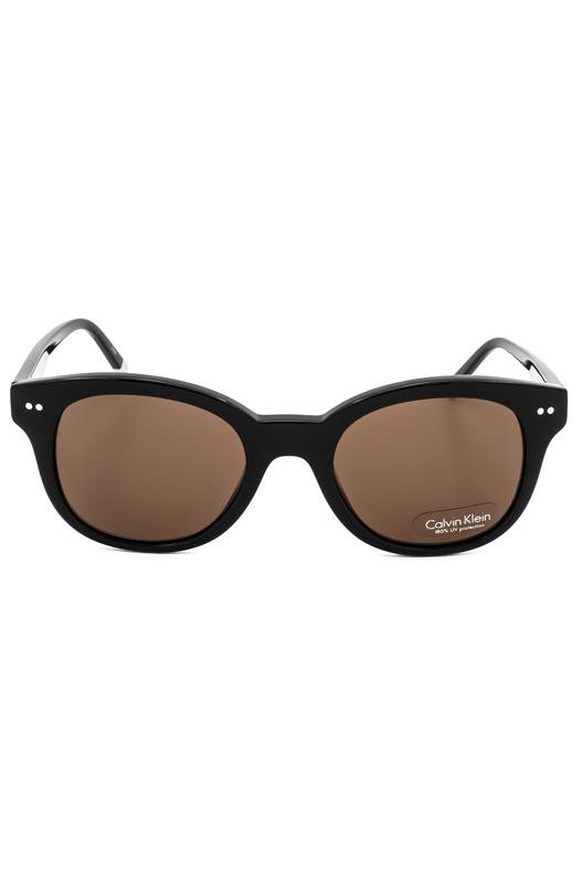 Солнцезащитные очки CK4354S 001 с коричневыми линзами Calvin Klein