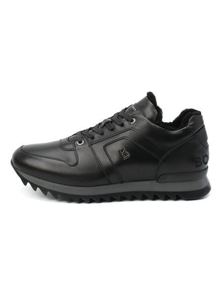 Утепленные черные кроссовки Bogner фото