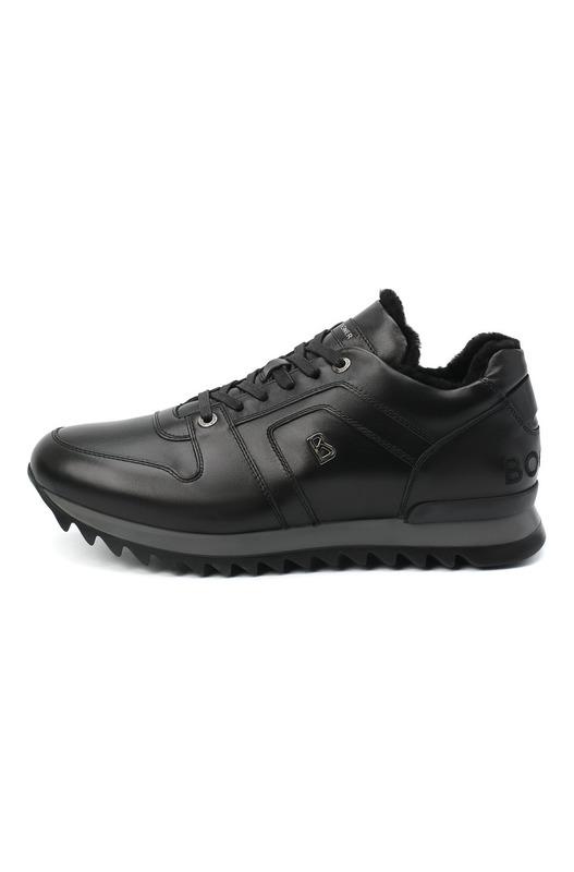 Утепленные черные кроссовки Bogner, фото