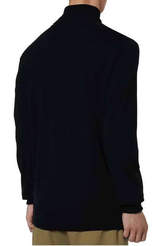 Мужской свитер Turtle Neck Merino Wool (черный) C.P. Company, фото
