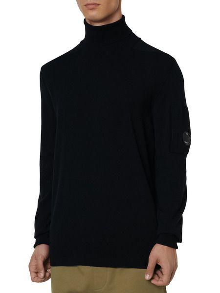 Мужской свитер Turtle Neck Merino Wool (черный)
