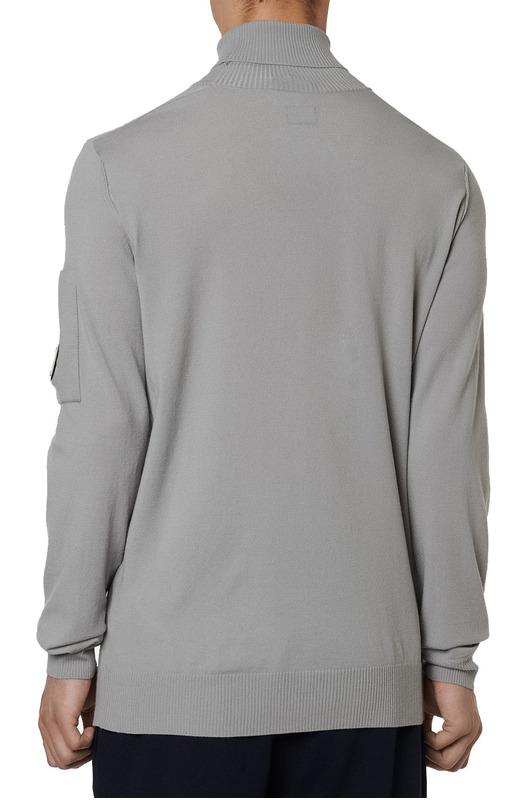 Мужской свитер Turtle Neck Merino Wool (серый) C.P. Company, фото
