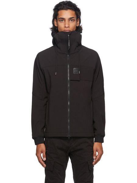 Куртка на молнии с нашивкой-логотипом C.P. Company, фото