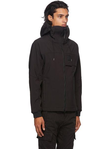 Куртка на молнии с нашивкой-логотипом