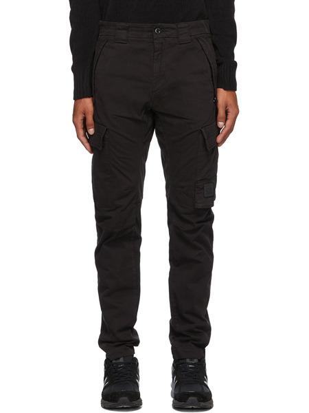Черные брюки карго C.P. Company фото