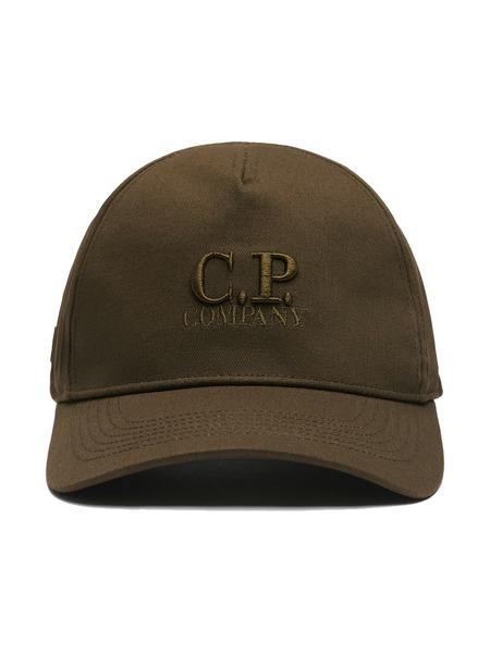 Кепка Gabardine Baseball с вышитым логотипом C.P. Company фото