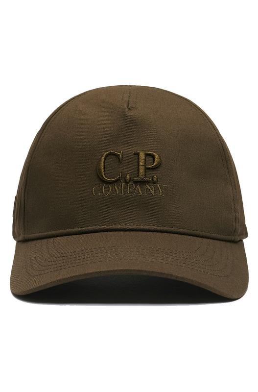 Кепка Gabardine Baseball с вышитым логотипом C.P. Company, фото