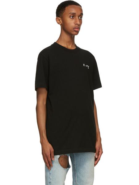 Черная футболка с логотипом OW Off-White, фото