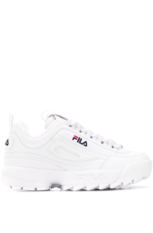 Белые кроссовки Disruptor Low WMN Fila, фото
