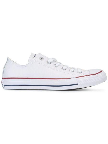 Белые короткие кеды All Star Ox Converse фото