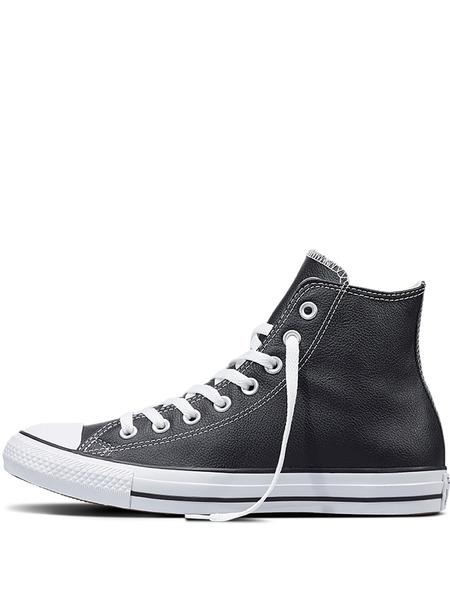 Высокие кожаные кеды Chuck Taylor All Star Converse, фото