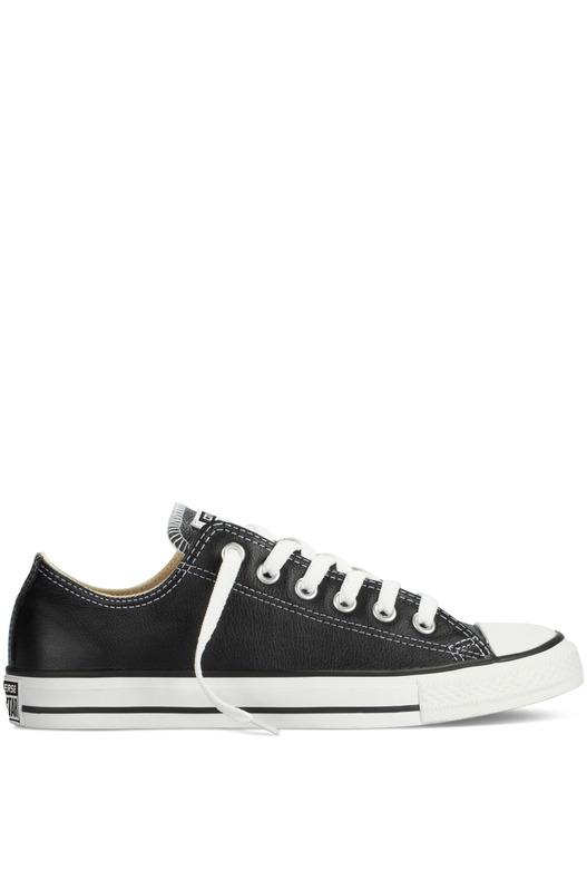Кеды Chuck Taylor All Star Ox Leather Black 132174C