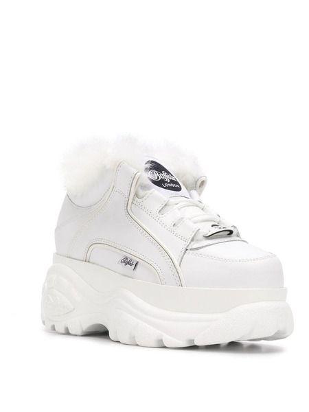 Зимние кроссовки на платформе Junya Watanabe x Buffalo