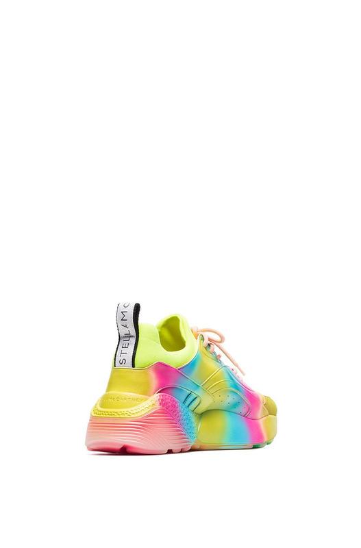 Кроссовки цвета радуги Eclypse Stella McCartney