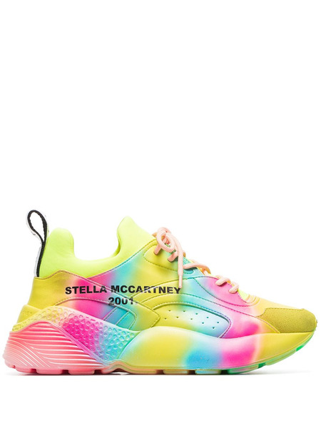 Кроссовки цвета радуги Eclypse Stella McCartney, фото