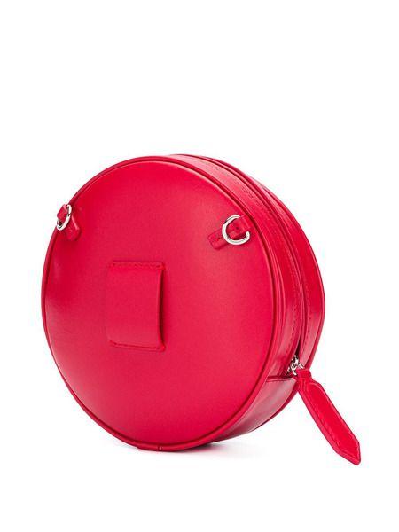 Круглая сумка через плечо Pill