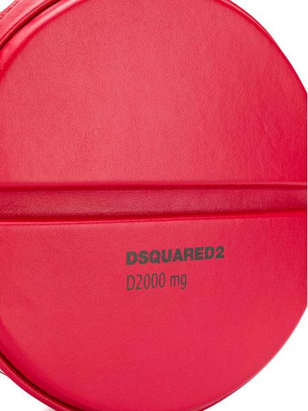 Круглая сумка через плечо Pill Dsquared2, фото
