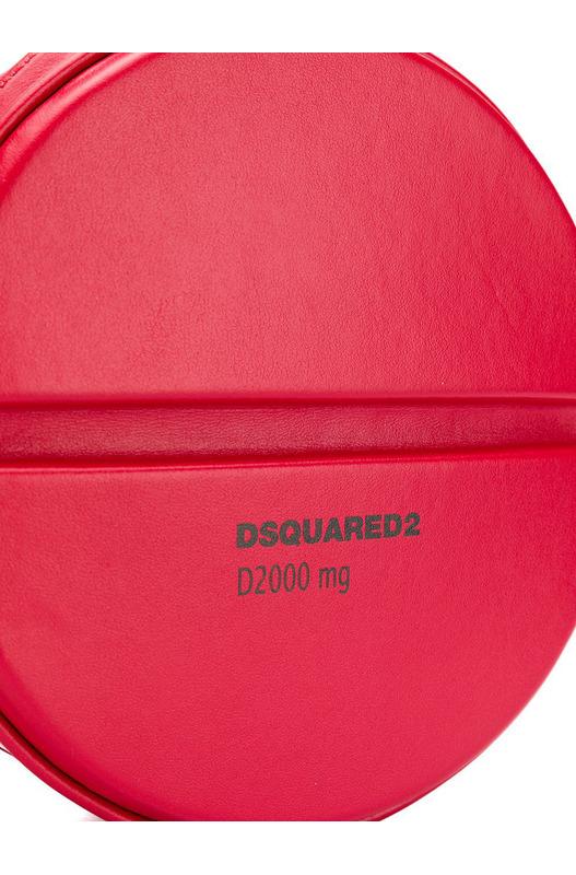 Круглая сумка через плечо Pill Dsquared2