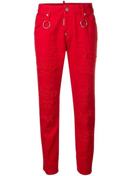 Красные джинсы Cool Girl Dsquared2 фото