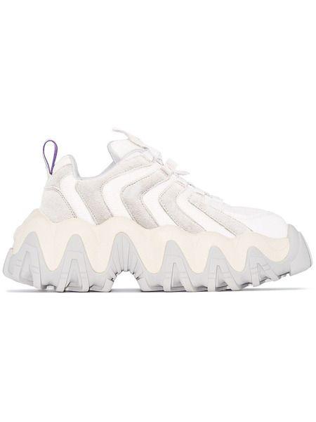 Белые массивные кроссовки Halo Eytys фото