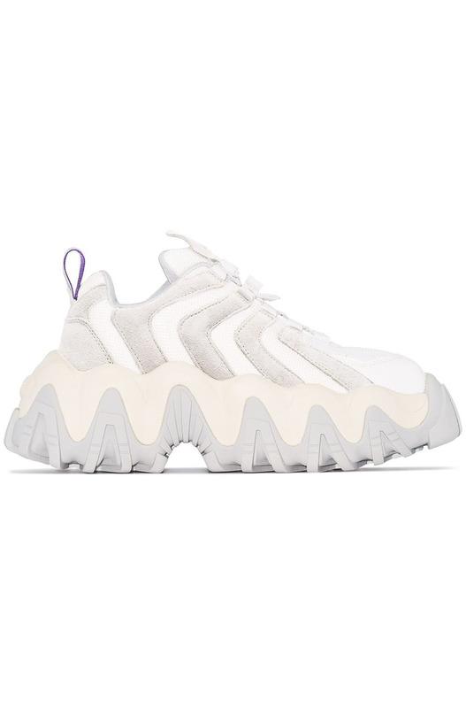 Белые массивные кроссовки Halo Eytys, фото
