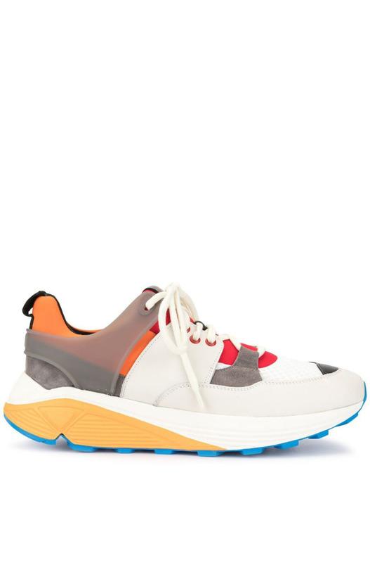 Кроссовки на шнуровке с Vibram