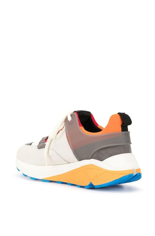 Кроссовки на шнуровке с Vibram Dondup