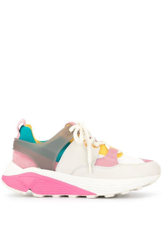 Кроссовки с Vibram на шнуровке