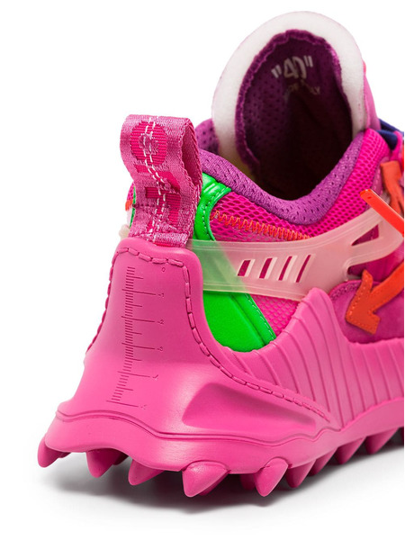 Розовые кроссовки ODSY-1000 Off-White, фото