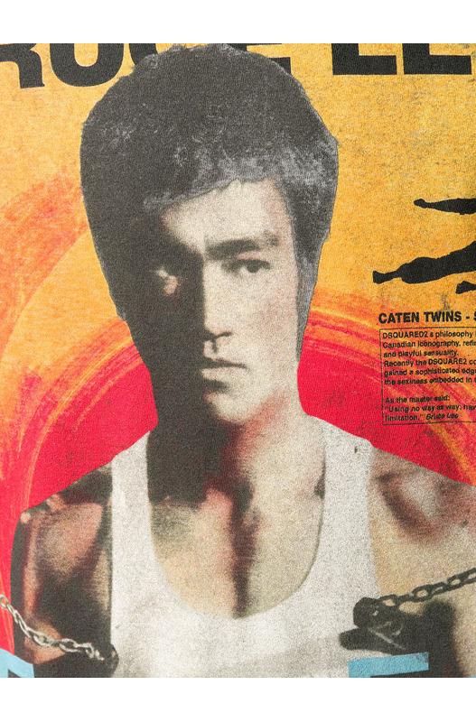 Белая футболка Bruce Lee Dsquared2, фото