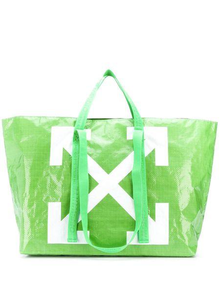 Объемная сумка-тоут с логотипом Off-White Off-White фото