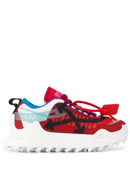 Красные кроссовки ODSY-1000 Off-White фото