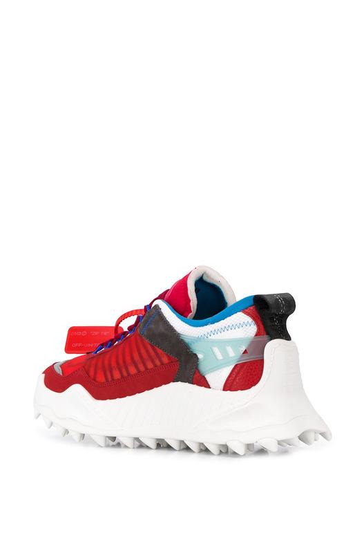 Красные кроссовки ODSY-1000 Off-White, фото