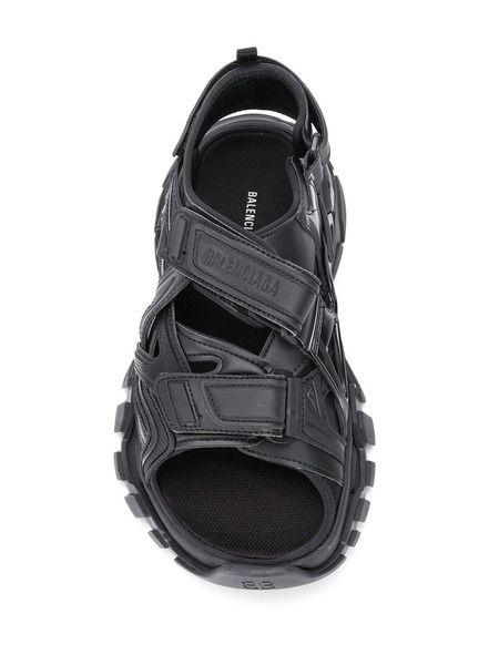 Черные сандалии Track