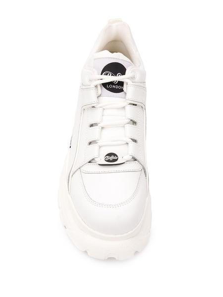 Белые кроссовки на массивной платформе Chunky Buffalo, фото