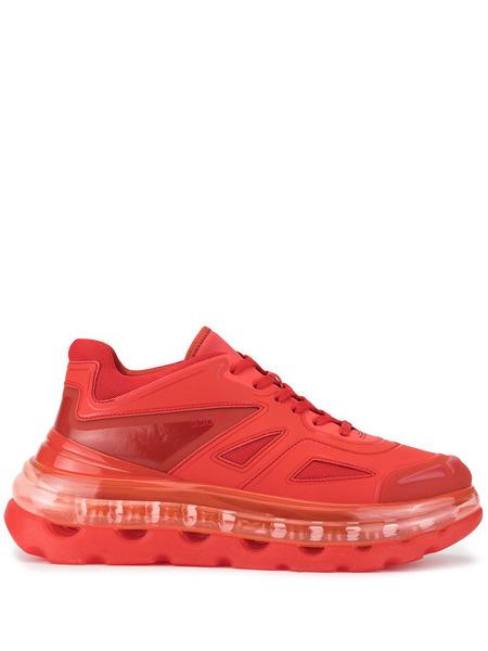 Красные кроссовки Bump'Air на шнуровке Shoes 53045 фото