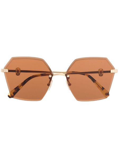 Женские солнцезащитные очки с брендовой фурнитурой Philipp Plein фото