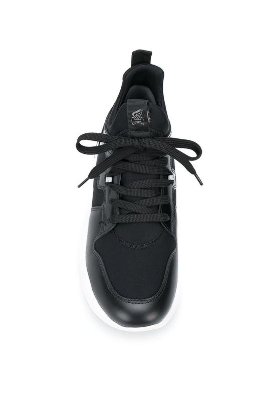 Черно-белые кроссовки Interaction Hogan