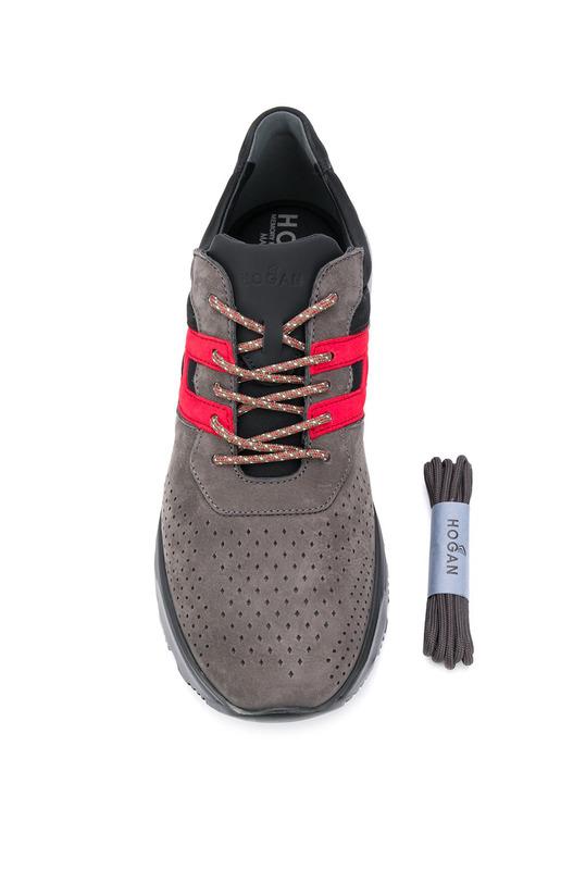 Кроссовки с перфорацией Hogan, фото