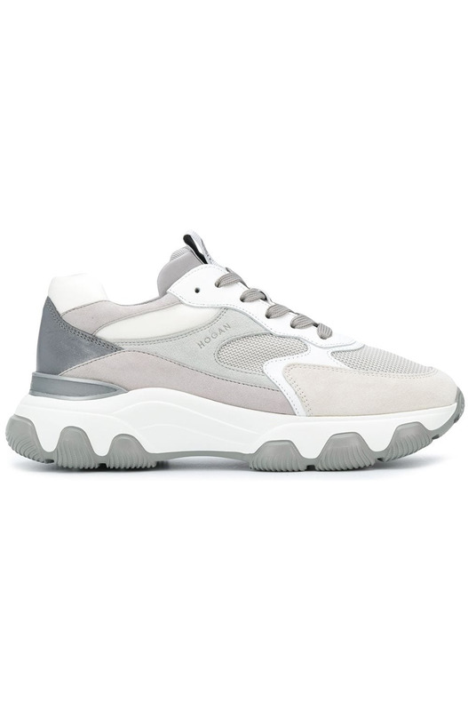 Кроссовки на массивной подошве Hogan