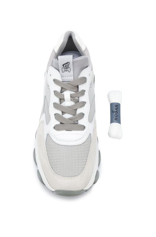 Кроссовки на массивной подошве Hogan, фото
