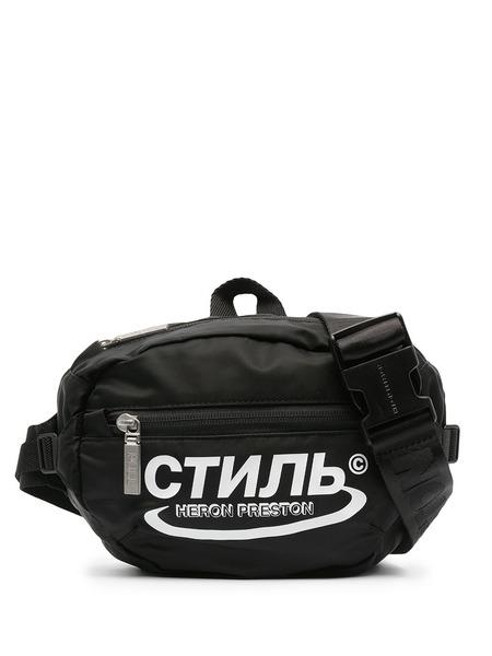 Поясная сумка с логотипом СТИЛЬ Heron Preston, фото