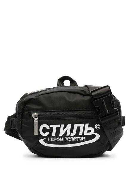 Поясная сумка с логотипом СТИЛЬ Heron Preston фото