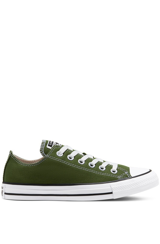 Короткие зеленые кеды Seasonal Colour Chuck Taylor All Star Low CTAS Converse, фото