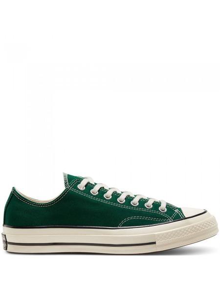 Зеленые короткие кеды Chuck 70 Ox Converse фото