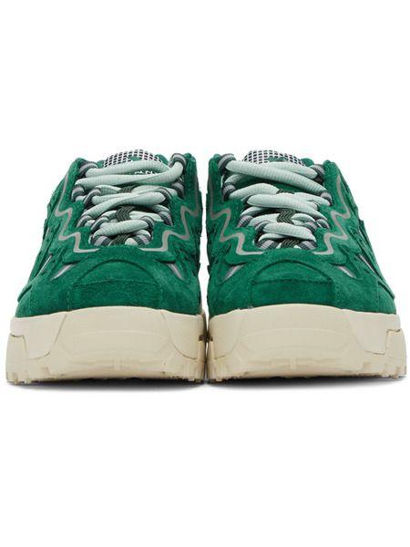 Зеленые кроссовки Gianno Converse x Golf le Fleur
