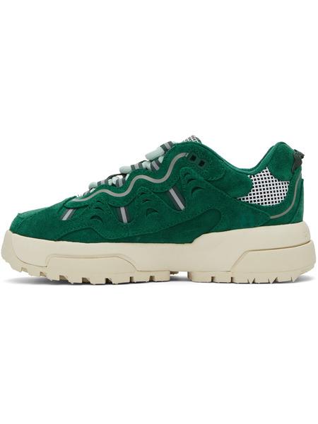 Зеленые кроссовки Gianno Converse x Golf le Fleur Converse, фото