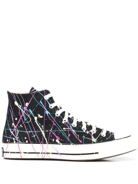 Высокие кеды Chuck 70 Archive с эффектом разбрызганной краски Converse фото